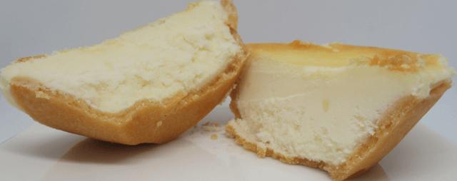 未解凍チーズタルト