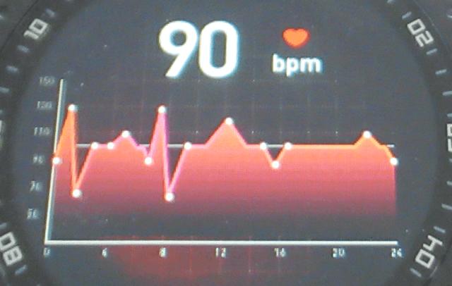 Bearoam F15スマートウォッチの心拍数測定